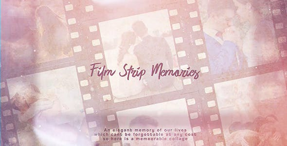 Videohive Film Strip Memories 21495890