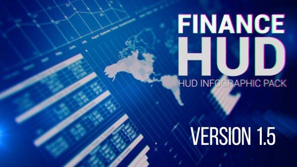 Videohive Finance HUD 12611003