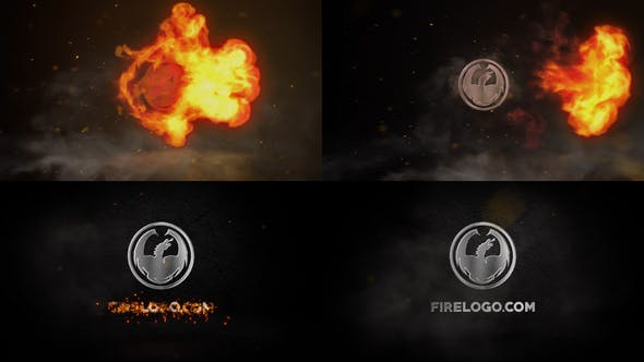 Videohive Fire And Chrome Logo 26501667