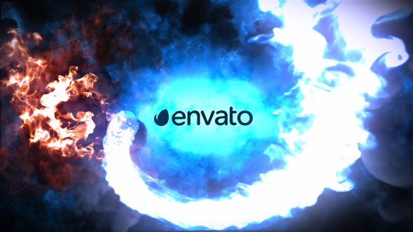 Videohive Fire And Ice Logo 19877205