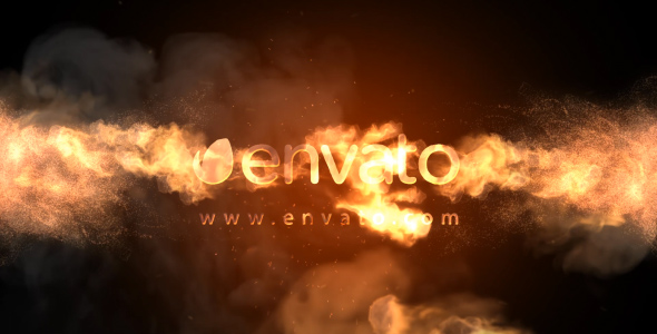 Videohive Fire Logo 19883707