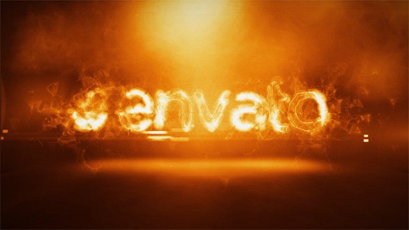 Videohive Fire Logo Intro 10122817