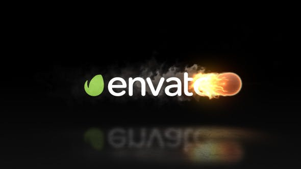 Videohive Fire Logo Reveal 20620430