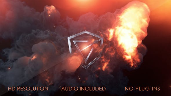 Videohive Fire Logo Reveal 27248723