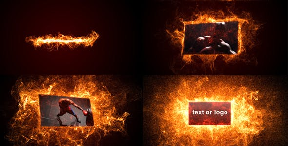 Videohive Fire Reveal 168659
