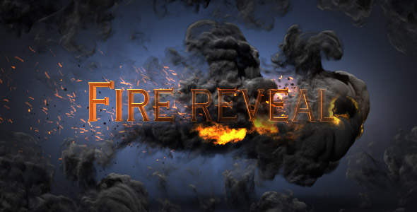 Videohive Fire Reveal 20241360
