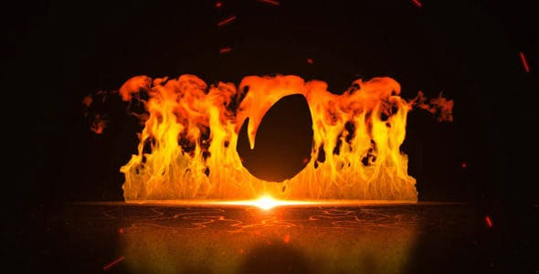 Videohive Fire Wall 6592420