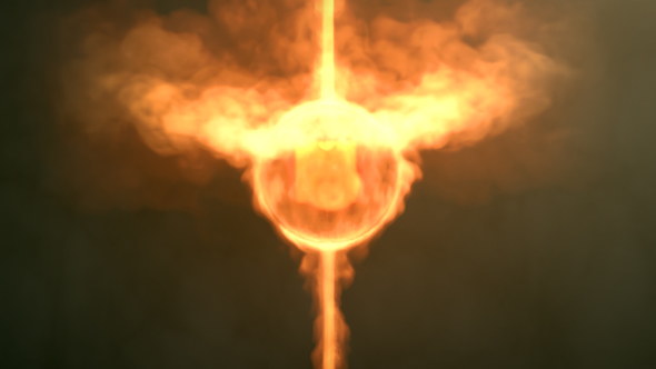 Videohive Fireball Logo Reveal 22406304