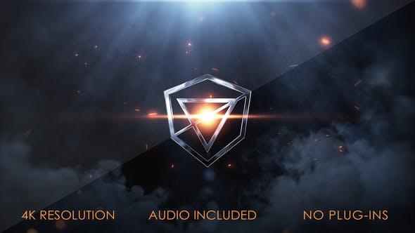 Videohive Fireball Logo Reveal 27034995