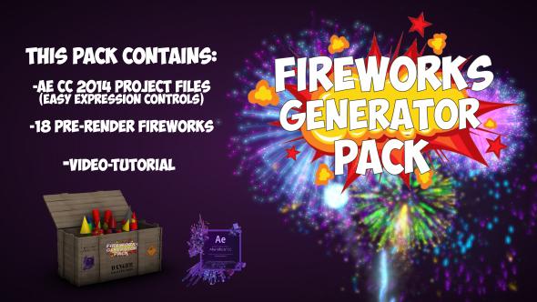 Videohive Fireworks 21016680