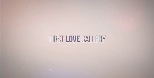 Videohive First Love Gallery 20132622