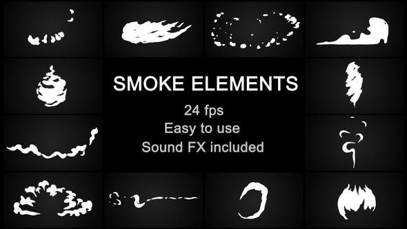 Videohive Flash FX Cartoon Smoke 23206992