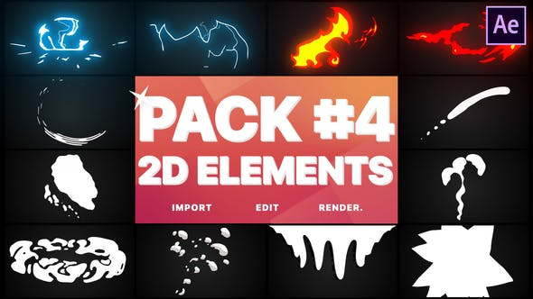 Videohive Flash FX Elements Pack 04 23414626