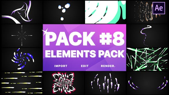 Videohive Flash FX Elements Pack 08 26737977