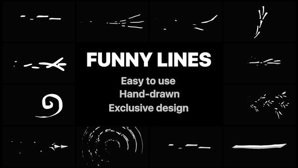Videohive Flash FX Funny Lines 22638304