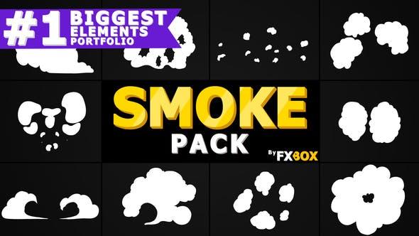 Videohive Flash FX Smoke Elements 21114202