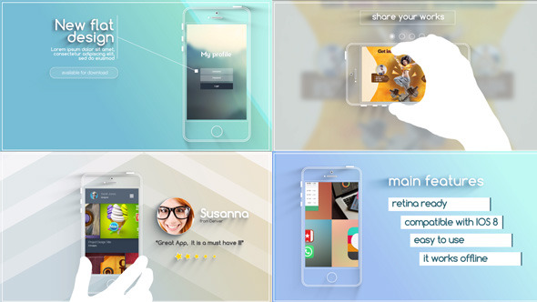 Videohive Flat And Modern App Explainer 11510368