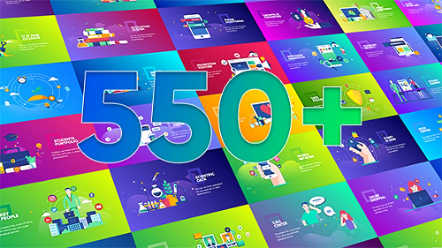Videohive Flat Design Concepts Package 21197321