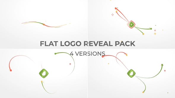 Videohive Flat Logo Reveal Pack 21170907