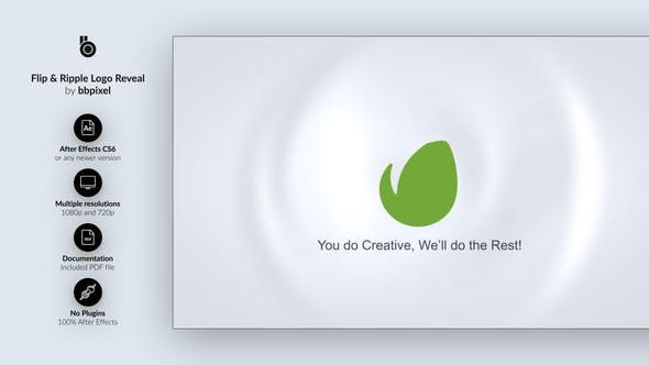 Videohive Flip Ripple Logo Reveal 13036066