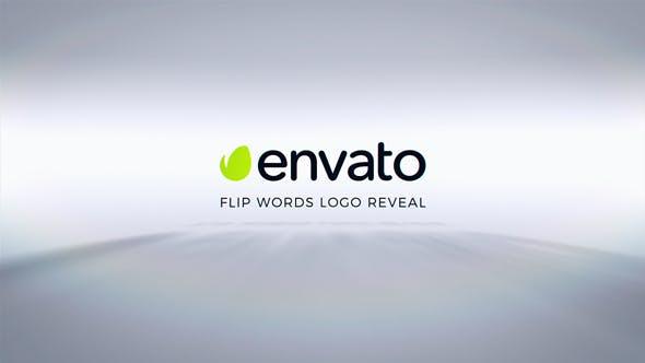 Videohive Flip Words Logo Reveal 17388900