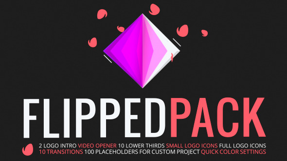 Videohive Flipped Pack 10686367
