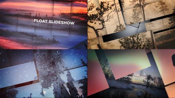 Videohive Float Slideshow 13640134