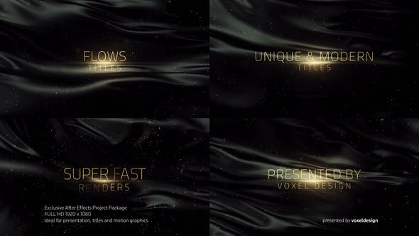Videohive Flows Titles 22912755