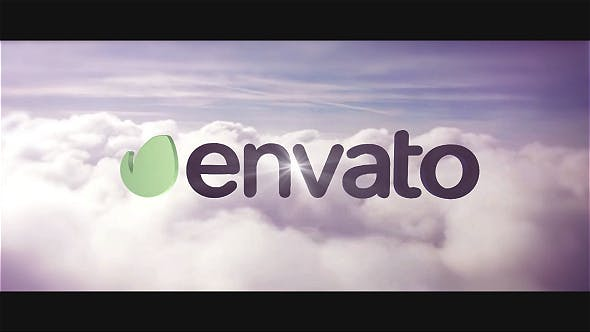 Videohive Fly Through Clouds Cinema Logo 10158852