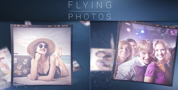 Videohive Flying Photos - Photo Gallery 8293860