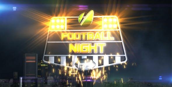 Videohive Football Night Opener 864604