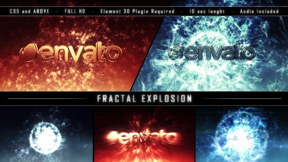 Videohive Fractal Explosion 9056933