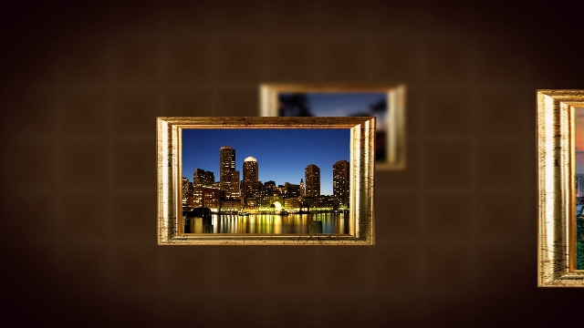 Videohive Frames Slideshow
