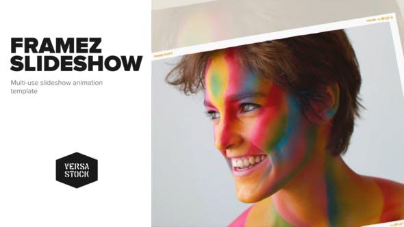 Videohive Framez Slideshow 22055480
