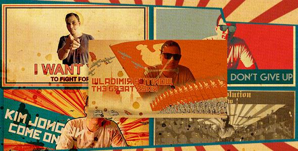 Videohive Freeze Frames Propaganda Pack 12329648