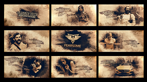 Videohive Freeze Moment Grunge Trailer 22109700