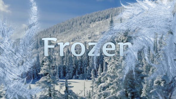 Videohive Frosen 12 Smart Transitions 21076139