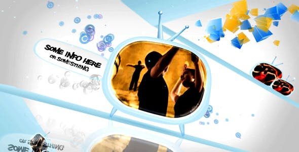Videohive Funky TV world 400118