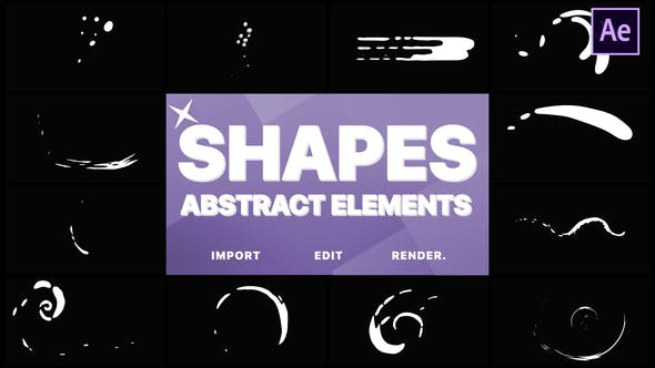 Videohive Funny Abstract Shapes 22402126