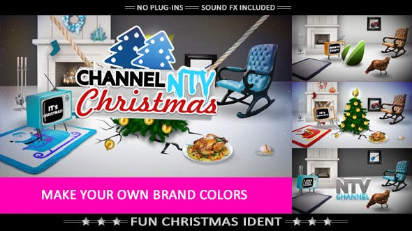 Videohive Funny Christmas 6183181
