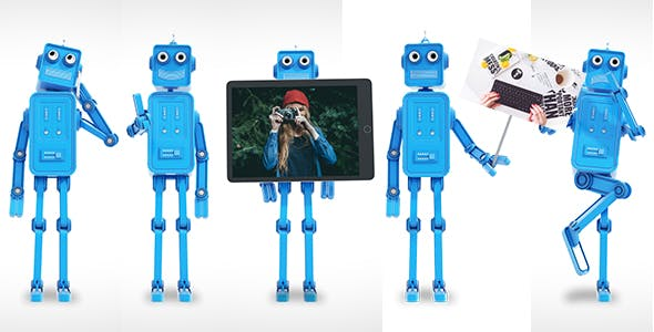 Videohive Funny Robot Character - Animation Toolkit 18056853