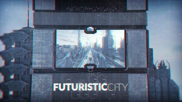 Videohive Futuristic City 23754231