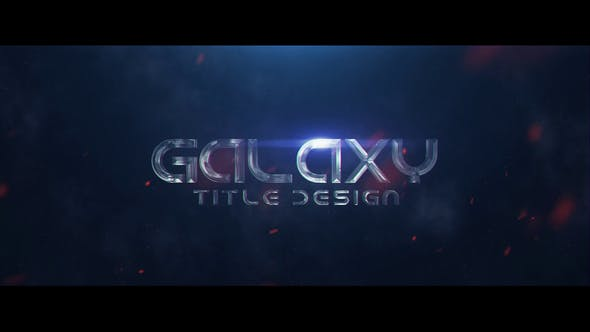 Videohive Galaxy Title Design 23074661