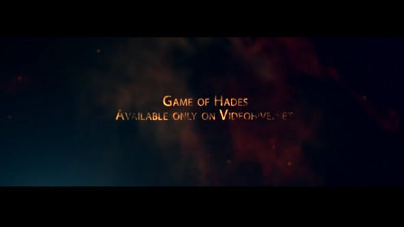 Videohive Game of Hades 8079888
