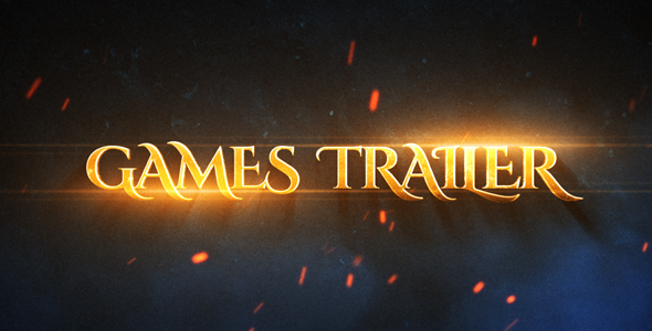 Videohive Games Epic Trailer 19880119