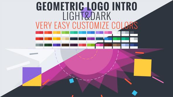 Videohive Geometric Logo Intro 10701281