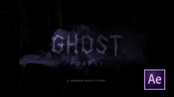 Videohive Ghost Forest Trailer 25369763