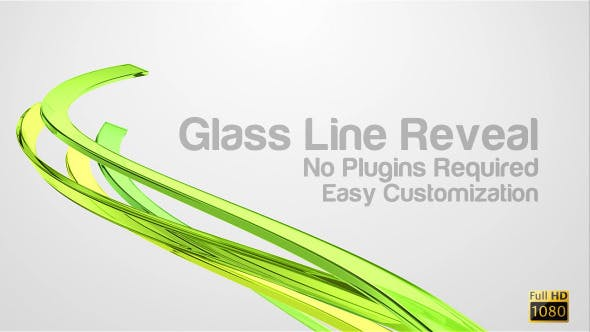 Videohive Glass Line Reveal 4231350
