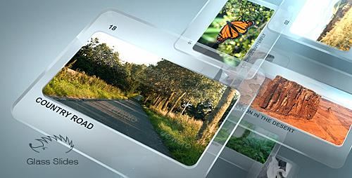 Videohive Glass Slides 1039418