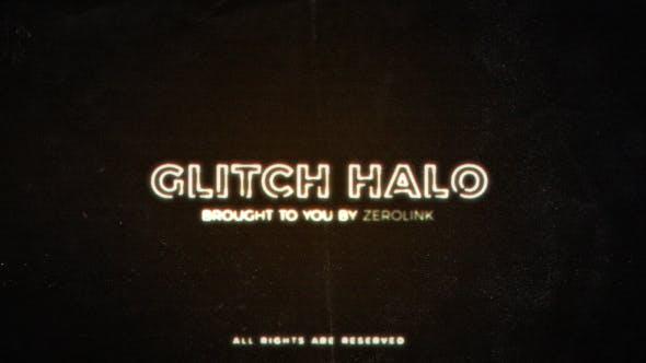 Videohive Glitch Halo 17122729